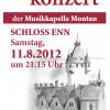 Schlosskonzert im Schloss Enn am 11. August