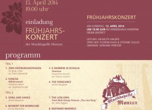 Frühjahrskonzert 2014